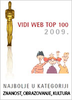 VIDI WEB nagrada - pikaiprijatelji.com