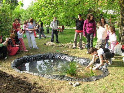 Izradite vrtno jezerce