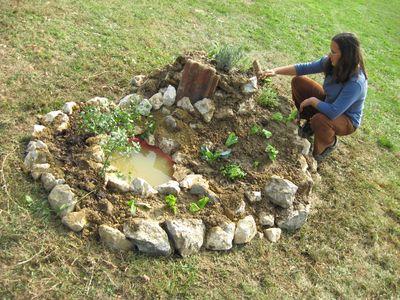 Kako izraditi biljnu spiralu
