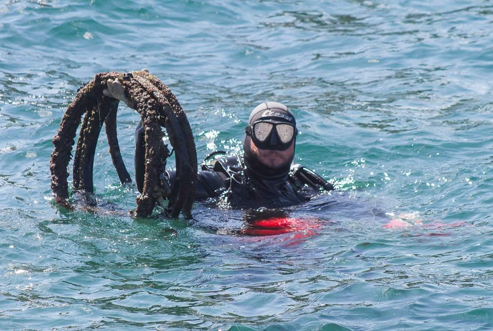 Velika akcija čišćenja podmorja Nacionalnog parka Kornati